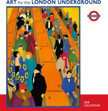Art for London Underground2018 Wall Calendar