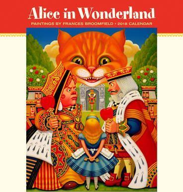 Alice in Wonderland 2018 Wall Calendar