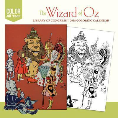 The Wizard of Oz 2018 Colouring Calendar