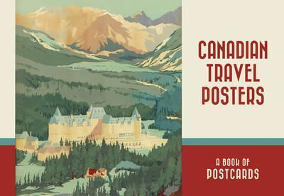 Canadian Travel Posters Book of Postcards Aa986