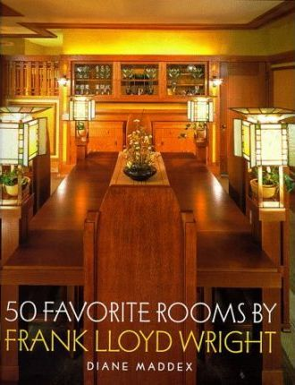 50 Favorite Rooms by Frank Lloyd Wright'