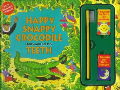 Happy Snappy Crocodile Takes Care of His Teeth