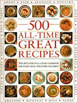 500 All Time Great Recipes