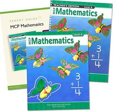 Modern Curriculum Press Mathematics Level a Homeschool Kit 2005c