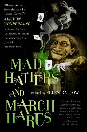 Image result for mad hatters and march hares ellen datlow book cover