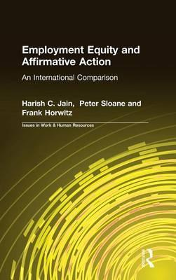 Employment Equity and Affirmative Action: An International Comparison