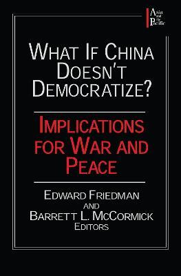 What If China Doesn't Democratize