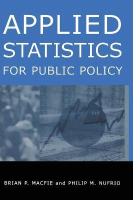 Applied Statistics for Public Policy