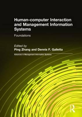 Human-Computer Interaction and Management Information Systems