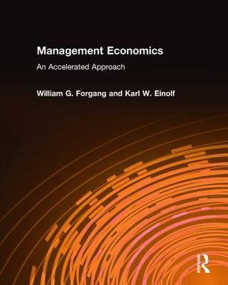 Management Economics: An Accelerated Approach