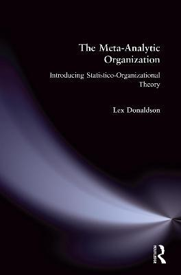 The Meta-Analytic Organization