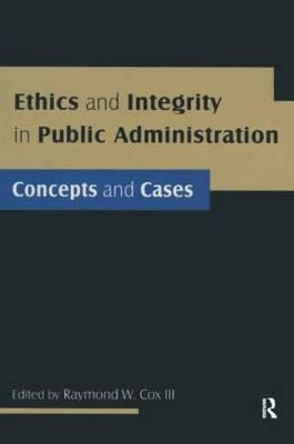Ethics and Integrity in Public Administration
