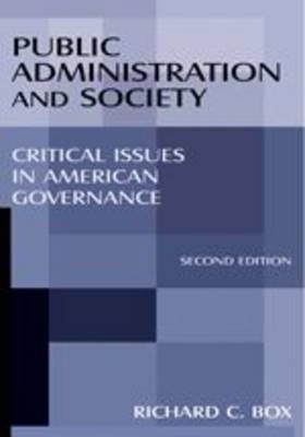 Public Administration and Society
