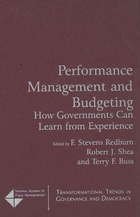 Performance Management and Budgeting