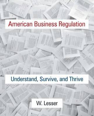 American Business Regulation