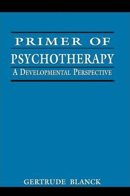 Primer of Psychotherapy