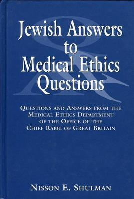 Jewish Answers to Medical Questions