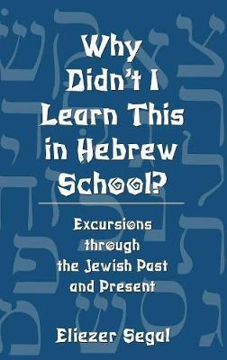 Why Didnt I Learn This in Hebrew School
