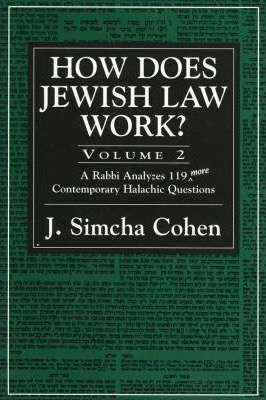 How Does Jewish Law Work?: Vol 2