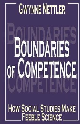 Boundaries of Competence