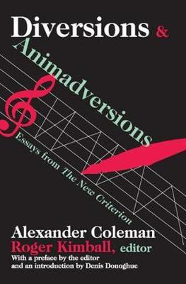 Diversions and Animadversions