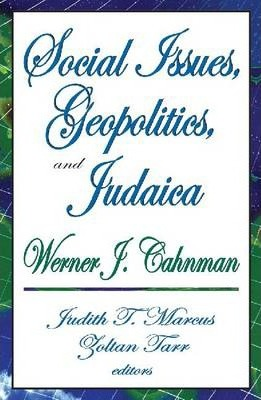 Social Issues, Geopolitics and Judaica
