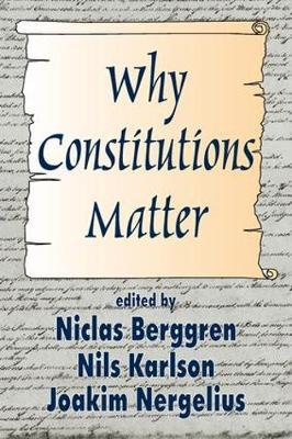 Why Constitutions Matter