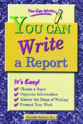 You Can Write a Report