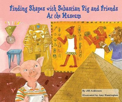 Finding Shapes with Sebastian Pig and Friends at the Museum