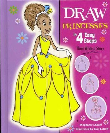 Draw Princesses in 4 Easy Steps