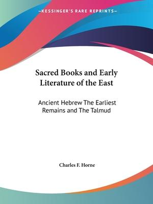 Sacred Books and Early Literature of the East: v. 3