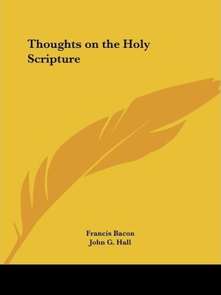 Thoughts on the Holy Scripture