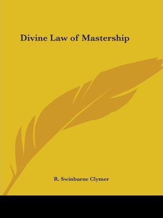 Divine Law of Mastership (1922)