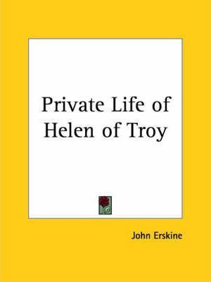 Private Life of Helen of Troy (1925)