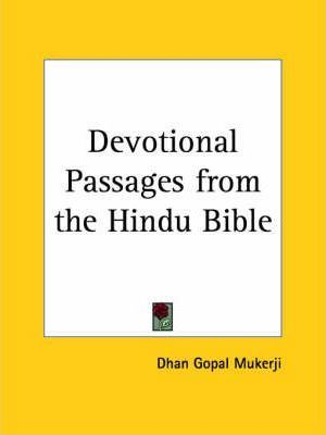 Devotional Passages from the Hindu Bible (1929)
