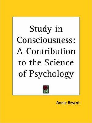 Study in Consciousness
