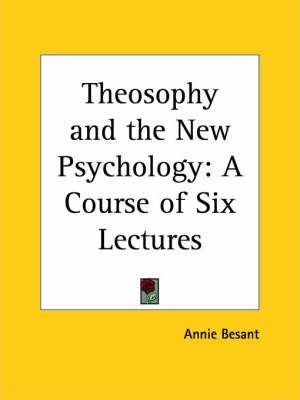 Theosophy and the New Psychology
