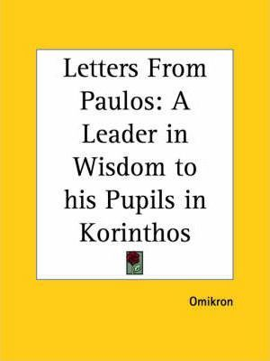 Letters from Paulos
