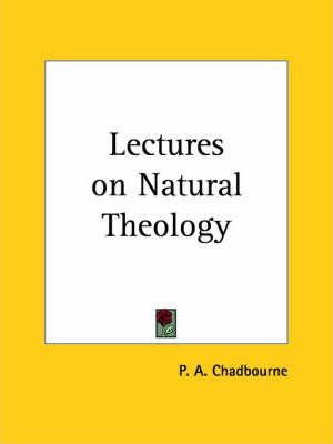 Lectures on Natural Theology (1867)