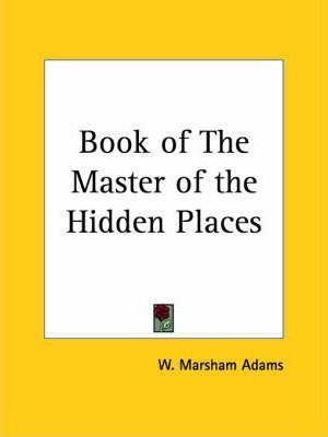 Book of the Master of the Hidden Places (1933)