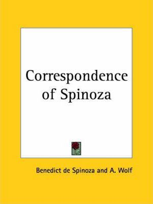 Correspondence of Spinoza (1927)