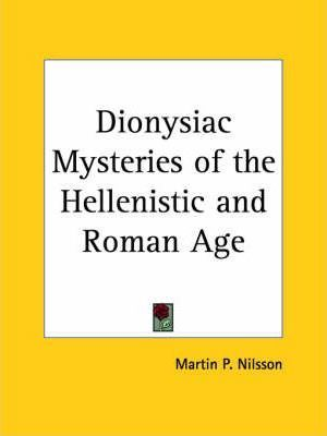 Dionysiac Mysteries of the Hellenistic and Roman Age (1957)