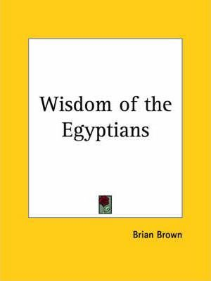 Wisdom of the Egyptians (1923)