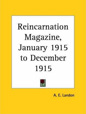 Reincarnation Magazine Vol. 2 (1915): v. 2