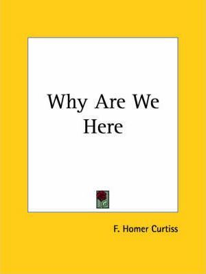 Why are We Here (1941)