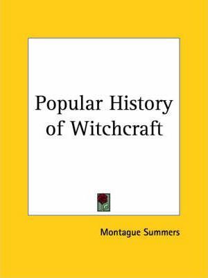 Popular History of Witchcraft (1937)
