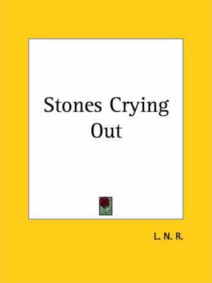 Stones Crying out (1830)