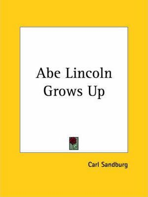 Abe Lincoln Grows up (1926)