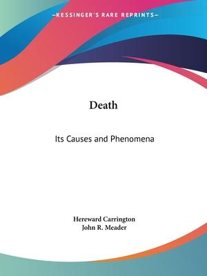 Death: Its Causes and Phenomena (1912)