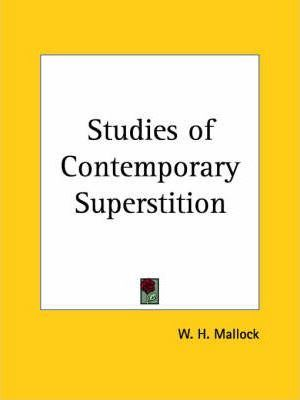 Studies of Contemporary Superstition (1895)